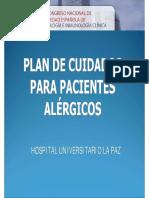 Plan Cuidados Pacientes Alergicos