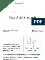 Fatty Acids Syn