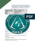 Laboratorio de Quimica -1 Umsa