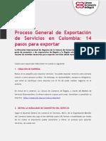 Guía Práctica Proceso de Exportación de Servicios