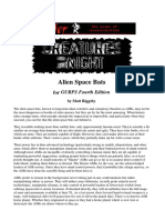 Pyramid Magazine - Creatures of the Night - Alien Space Bats for GURPS 4th Edition