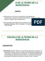 ESCUELA DE LA TEORIA DE LA BUROCRACIA.ppt