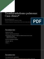 TEP Caso Clinico
