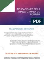 Aplicación Transformadas de Fourier