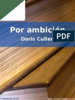 Doris Cullen - Por Ambicion