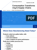 How Lean Consumption Transforms Manufacturing & Supply Chain