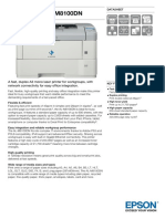 WorkForce AL M8100DN Datasheet