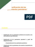 A.-clasificacion de Yacimientos