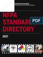 NFPA Standards Directory 2017