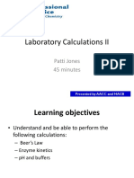 BCDC Laboratory Calculations II Apr 30 2013