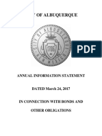 2017 Albuquerque Annual Investor Statement