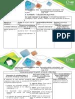 Gúía de Actividades y Rúbrica de Evaluación- Actividad 4 - Realizar Evaluación Final Del Curso Mediante POA.