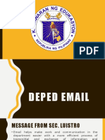DepED Email