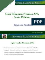 Resumen Normas APA 6ta Edición