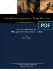 Management by Islam (MBI)