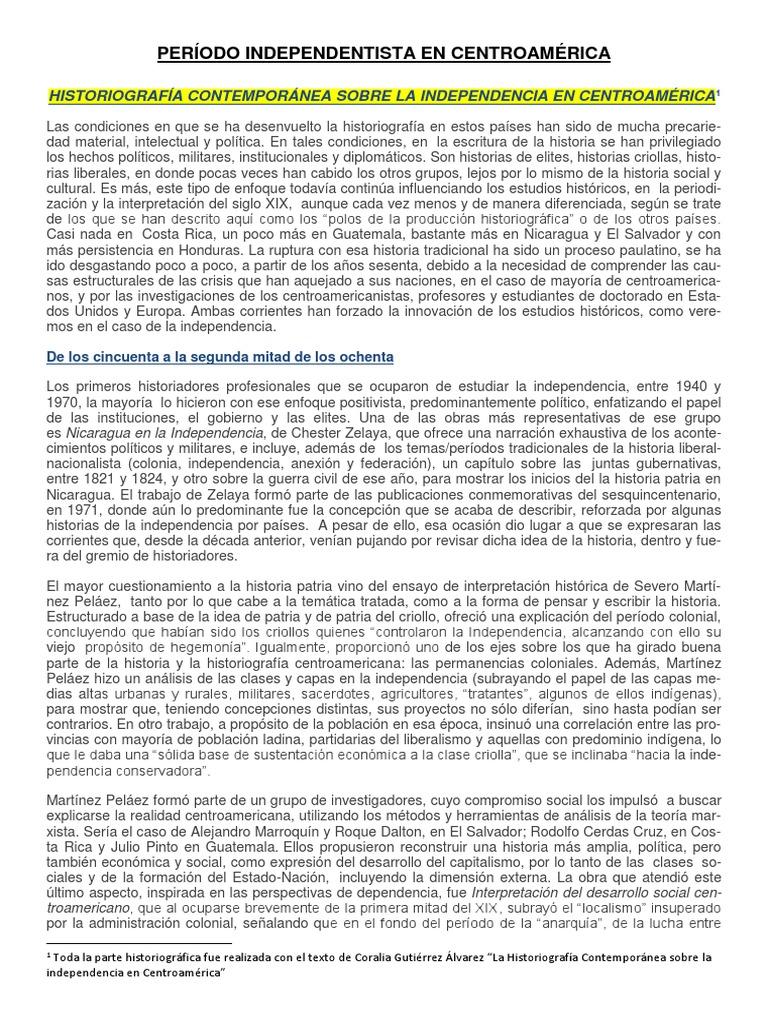 resumen centroamerica