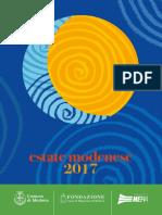 Programma Estate Modenese2017
