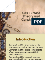 Gas Turbine and Construction