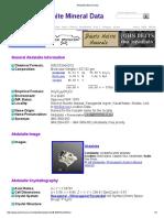 Akdalaite Mineral Data