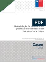 Metodologia de Medicion  Multidimensional