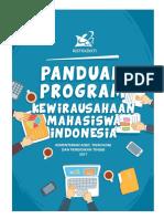 Buku Panduan PKMI Tahun 2017 Ristek Dikti