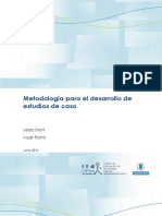 Metodologia Estudios de Caso