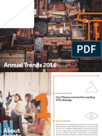 Tripsta General 2016 Annual Trends Report