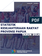Statistik Kesejahteraan Rakyat Provinsi Papua 2014