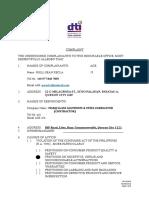 40 NCR-SF050 - Complaint Form (1)