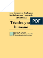 Tecnica y Ser Humano Previo 2