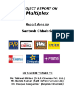 A Project Report on Multiplex