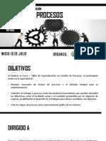 Brochure Gestión Por Procesos