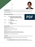 sample cv resume for fresh grad