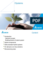 Delta Hybrid Systems