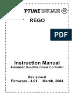 Neptune Ducati Rego Power Factor Controller Manual