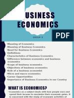 Business Economics Revised