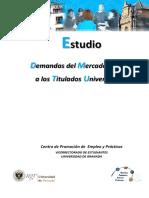 Estudio Demandas de Las Empresas a Los Titulados 2012