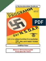 Feder, Gottfried-El Programa NS Explicado
