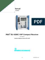 EU4200C Operating Manual