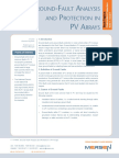 TT Ground Fault Analysis and Protection in PV Arrays Tech Topic