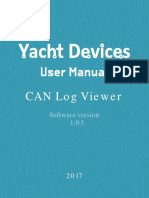 CAN Log Viewer Manual