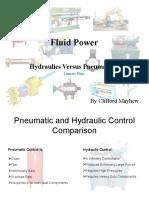 Hydraulics vs Pneumatics