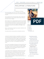 Lit102 Philippine Literature_ the God Stealer_ Filipino Identity in Fiction