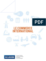 Brochure Commerce International