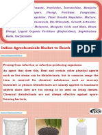 Projects on Disinfectants, Pesticides, Insecticides, Mosquito Repellents, Destroyers, Phenyl, Fertilizer, Fungicides, Herbicides, Plant Regulator, Plant Growth Regulator, Mixture, Intermediates, Agrochemicals, Bio Stimulate, Growth Activator, Organic Pesticides, Melamine, Mosquito Coils and Mats, Black Phenyl, Liquid Organic Fertiliser (Biofertiliser), Naphthalene Balls, Surfactants Indian Agrochemicals Market to Reach $6.8 Bn by FY17
