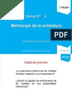 Ppt IV.- Metalurgia de La Soldadura