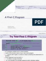 t02AFirstCProgram