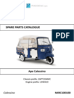Spare Parts Piaggio Calessino