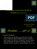 Leadership Lesson From Life of Prophets (P.B.U.H)
