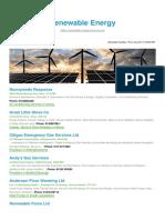Renewable Energy BizHouse.uk